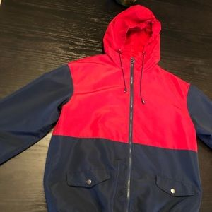 Street wear society light jacket